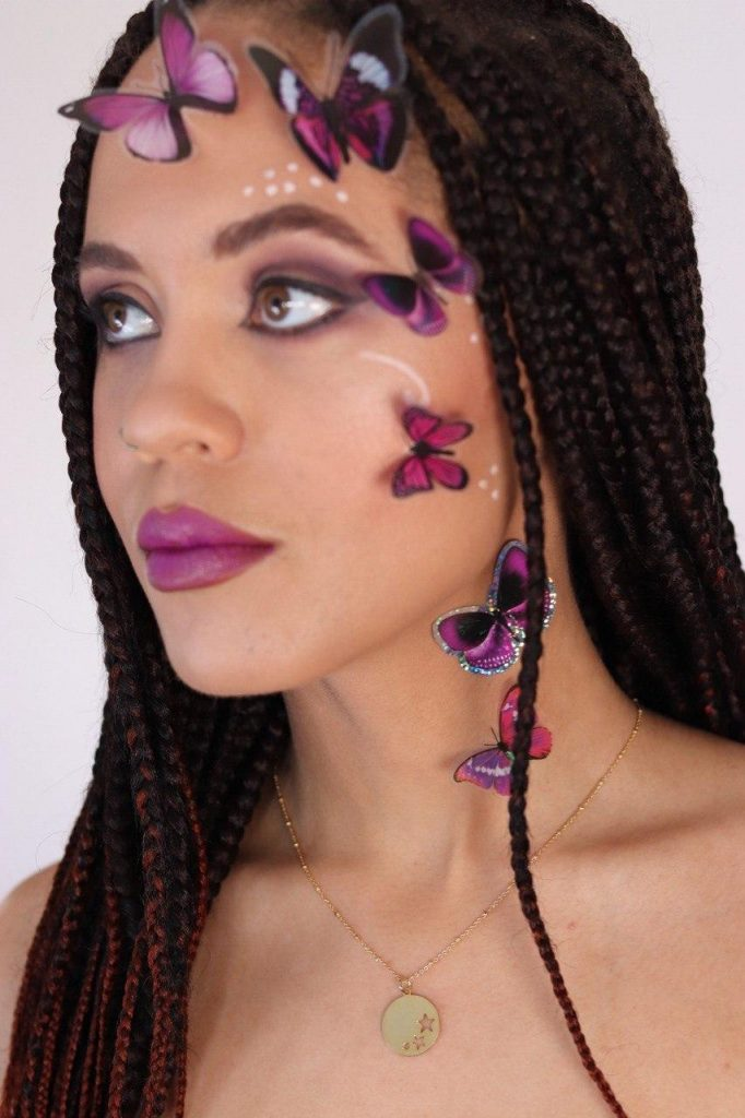 fashion, Modelling, creative Makeup