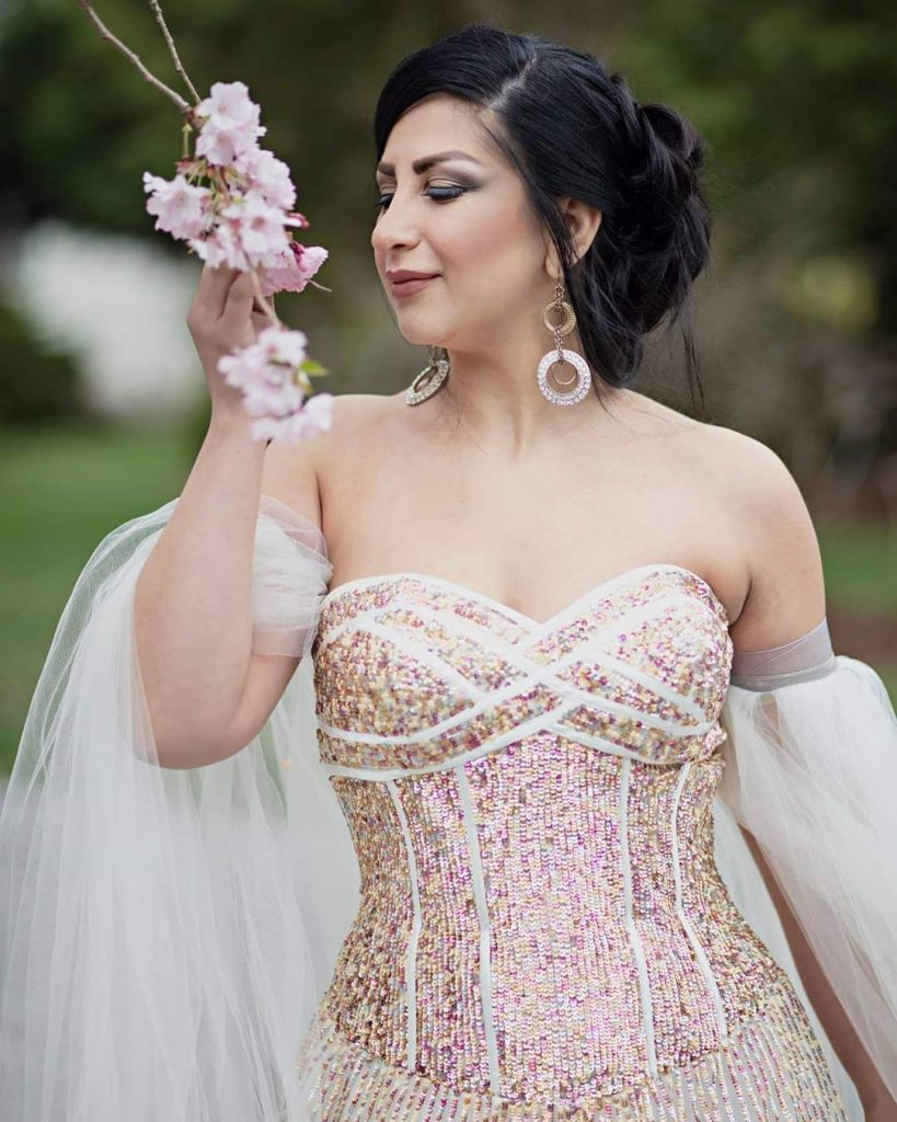 Blow out Hair design, and Makeup wedding bridal